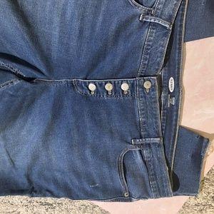 Old Navy Jeans - Old Navy Rockstar Super Skinny Frayed Hem Jeans 22